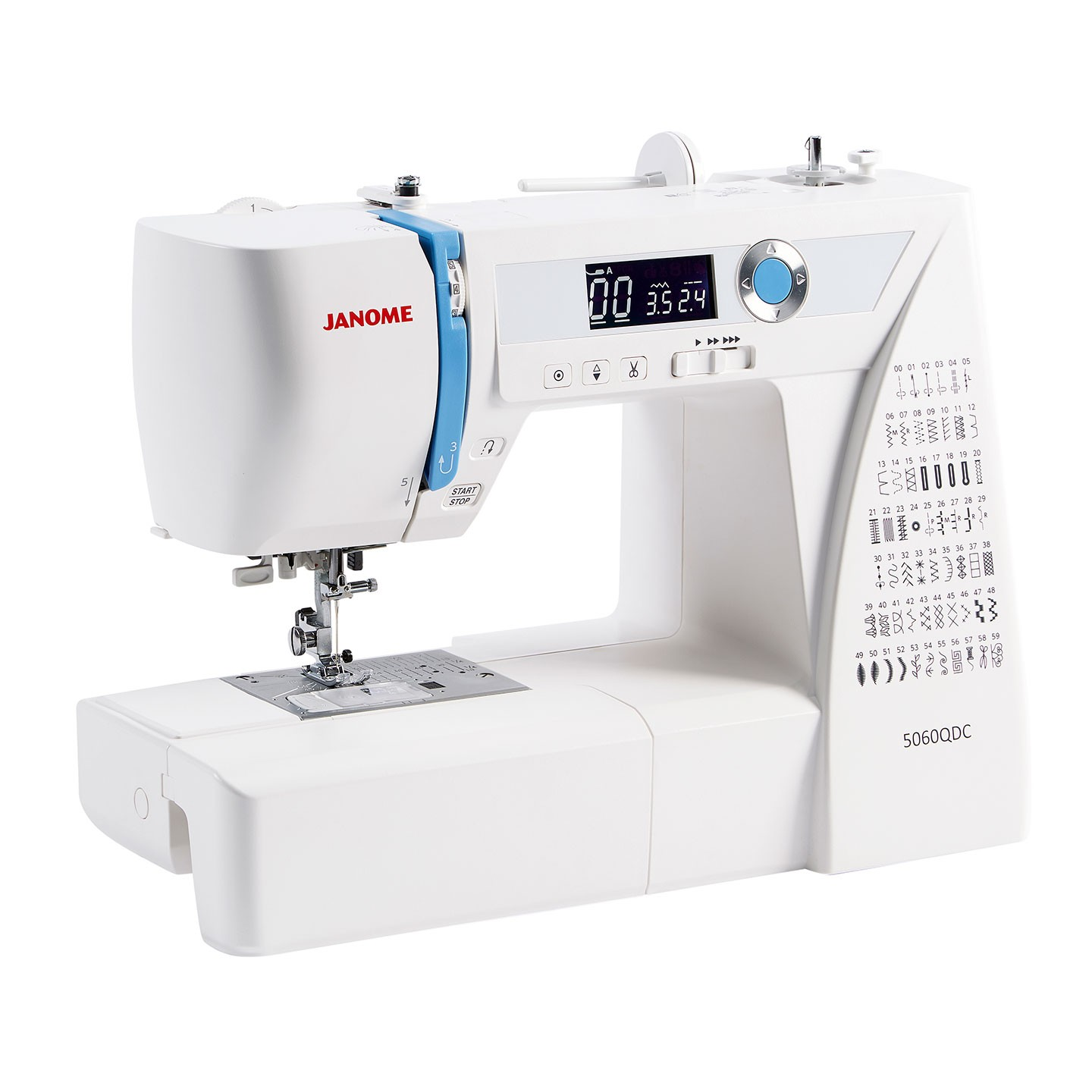Janome 5060QDC - Tullys Sewing Machines